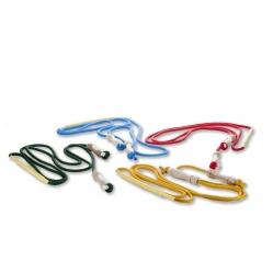Rhythmic gymnastics skipping rope with handles