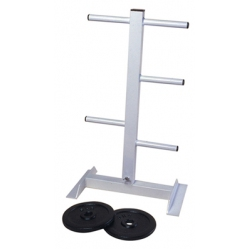 Vertical discus rack