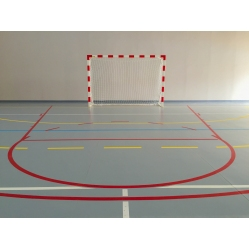 Steel handball goals