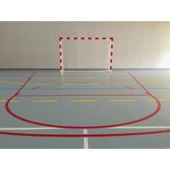 Aluminium handball goals