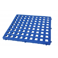Modular plastic grid 50x50 cm blue