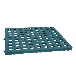 Modular plastic grid 50x50 cm green