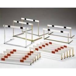 Steel Hurdle height graduated cm.76,2-84-91,4