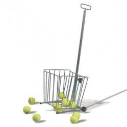 Easy balls pick-up cart