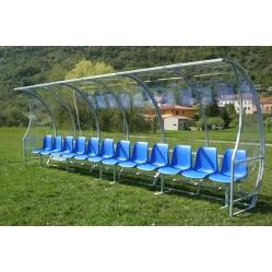 Football bench mt. 6