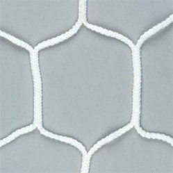 Pair of hexagonal nets for soccer goals dim.m.7,50x2,50