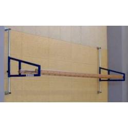 Wall horizontal ladder