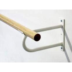 Fixed bracket ballet bar