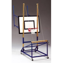 Minibasket backboard lifting gear