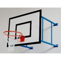 Minibasketball system overhang 185 cm