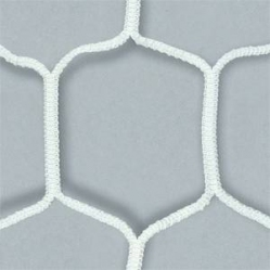 Pair of extra hexagonal nets for soccer goals dim.m.7,50x2,50
