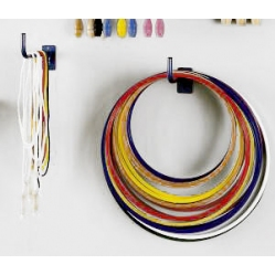 Wall hoop rack