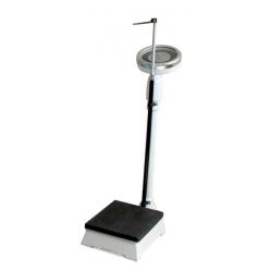 Balance with stadiometer