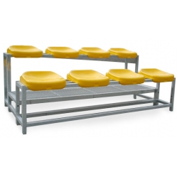 Bleachers unit for 8 people