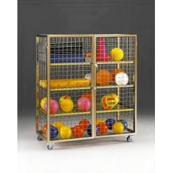 Standard balls trolley dim.cm.153x76x165h.
