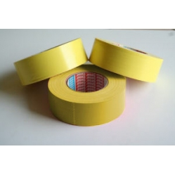 Yellow striping tape in PVC for basketball court