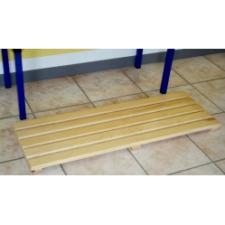 Footrest on wood 2 m