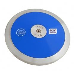 Disco in nylon con bordo in ferro kg. 2 Omologato I.A.A.F
