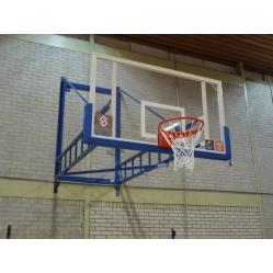Impianto basket accostabile a parete CERTIFICATO F.I.B.A.