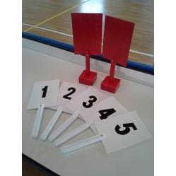 Palette per giudici pallacanestro