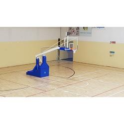 Impianto basket oleodinamico elettrico sbalzo 330 cm