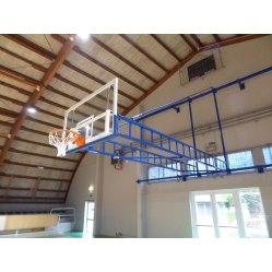Impiato basket accostabile a parete
