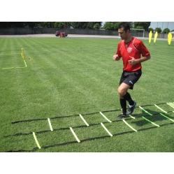 Scaletta per allenamento calcio