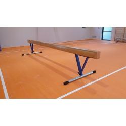 Trave di equilibrio graduabile in altezza da cm.80 a cm.120