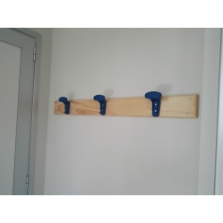 Attaccapanni a parete lunghezza 1 m