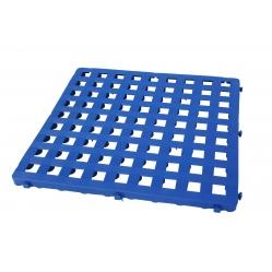 Graticcio in plastica componibile 50x50 cm blu