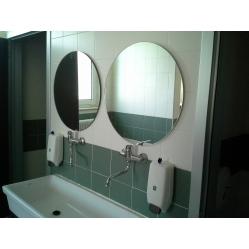 Specchio a parete senza cornice