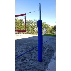 Impianto beach-volley/tennis 70 mm