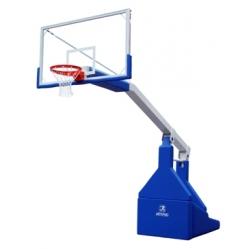 Impianto basket oleodinamico elettrico certificato FIBA, sbalzo cm.330