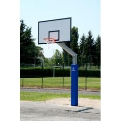 Impianto basket monotubolare con piastra