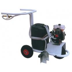 Carrello segnacampo a motore