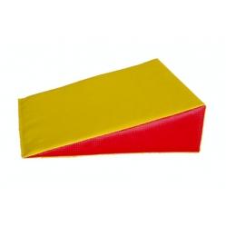 Cuscino in gommapiuma a cuneo dim. 35x35x10 cm