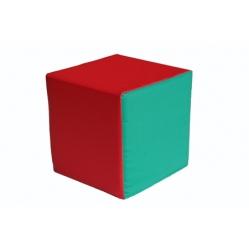 Cuscino in gommapiuma a cubo dim. 30x30x30 cm