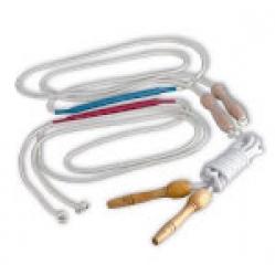 Funicella per ginnastica ritmica con manopole