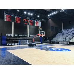 Impianto basket RED15 certificato FIBA, sbalzo cm.330