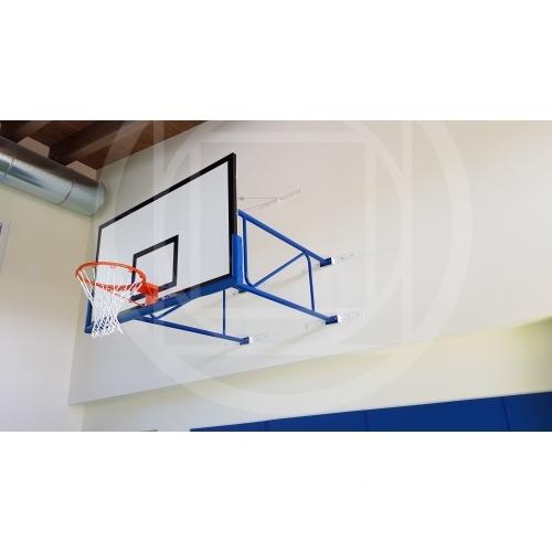 32e5f15f5da5 Impianto basket fisso per parete sbalzo 185 cm