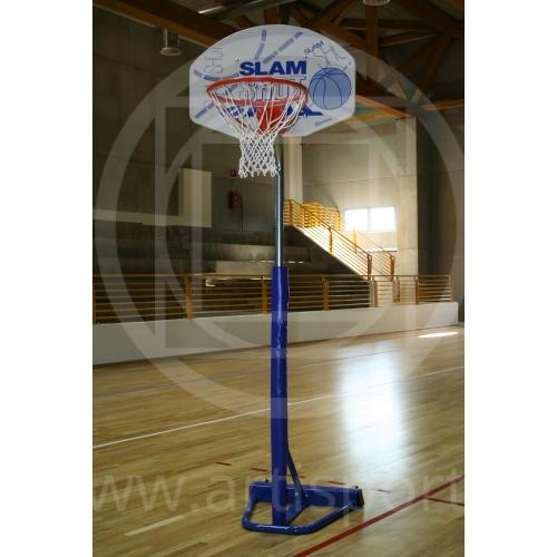 Canestro trasportabile per basket 170 cm