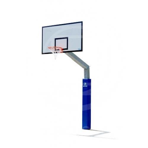 Impianto pallacanestro monotubolare a sbalzo