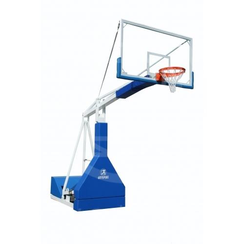 Impianto basket oleodinamico a regolazione manuale