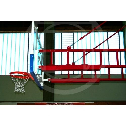 Protezione per impianto basket