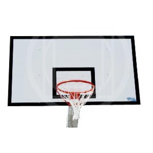 Tabellone pallacanestro da esterno in resina melaminica