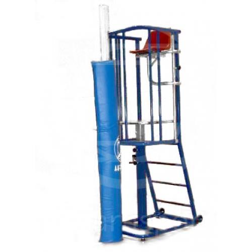 Imbottitura di protezione per impianti di pallavolo
