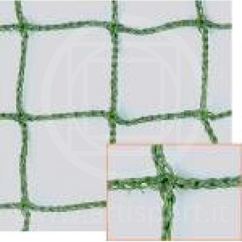 Rete verde per campi di tennis
