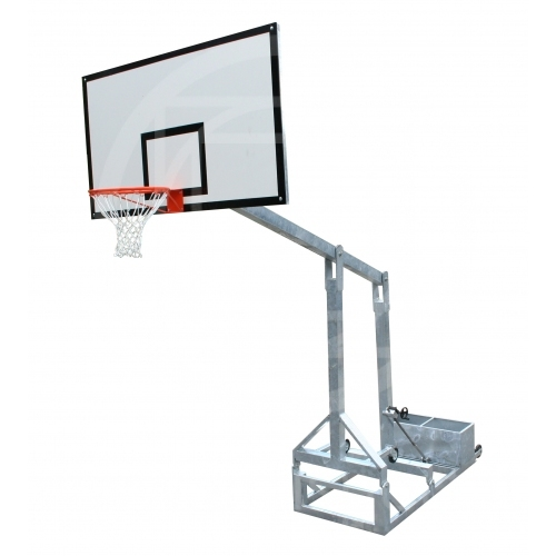 Faltbare Basketballanlage