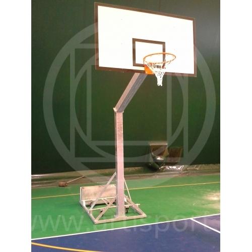 Basketballanlage Olimpionico mit Räder