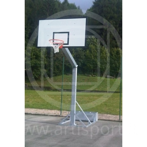 transportable Basketballanlage